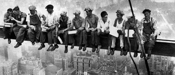 Lunch atop a Skyscraper, 1932